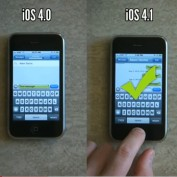 iPhone 3G ios 4.0 vs ios 4.1