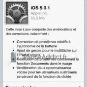 iOS 5.0.1 dispo