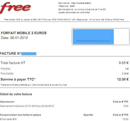 Free mobile les factures sont disponibles en ligne - Payer en plusieurs fois telephone portable ...