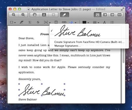 Astuce mac cr er une signature num rique pour vos pdf - Ouvrir document open office avec word ...