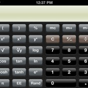 Calculatrice mode scientifique