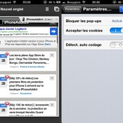 Chrome iOS Detection auto codage
