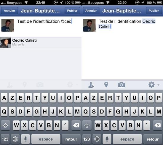 Comment supprimer un commentaire sur facebook avec iphone