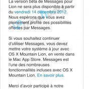 Messages OS X Lion Expire