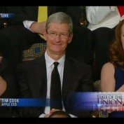 Tim Cook State of the Union Obama