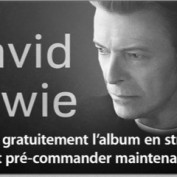 David Bowie The Next Day gratuit