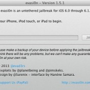 Evasi0n 1.5.1 Mac Jailbreak iOS 6