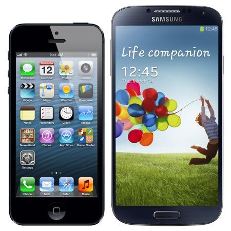 http://cdn.iphoneaddict.fr/wp-content/uploads/2013/03/iPhone-5-Galaxy-S4.jpg