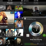 Twitter music App iPhone