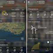 Yahoo Meteo App iPhone 2
