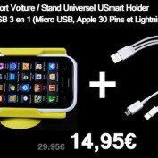 bundle ia cable et support
