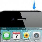 iPhone 4 bouton power