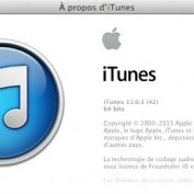 iTunes 11.0.3