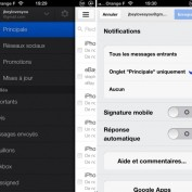 Gmail nouvelle interface categories