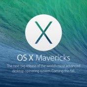 Logo OS X 10.9 Mavericks US