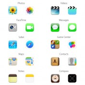 iOS 6 vs iOS 7 Icones