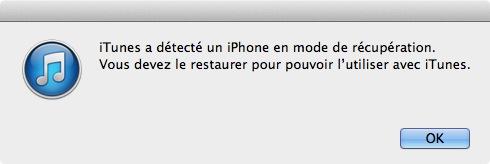 iTunes Mode DFU
