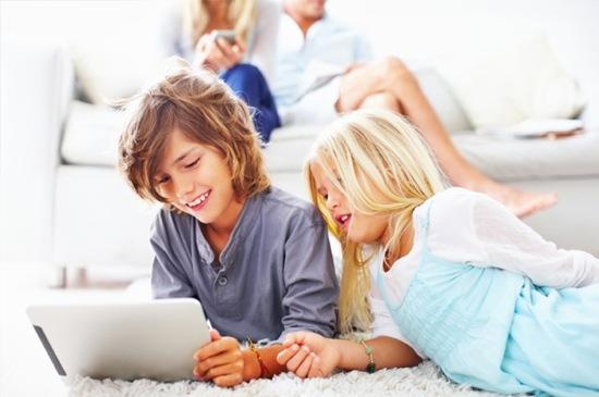 Enfants iPad