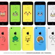 iPhone 5c Pokemon