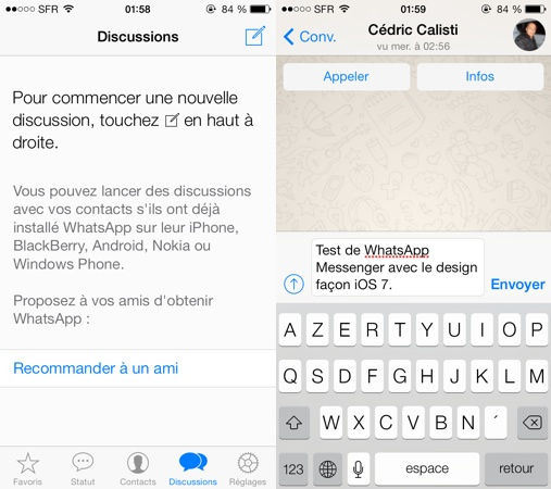 how to search in whatsapp chat iphone 7 plus