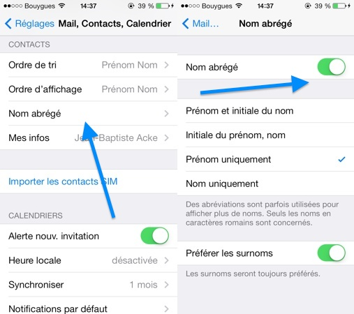 photo comment afficher les photos des contacts dans les messages sur iphone