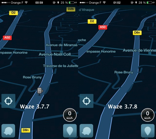 waze ne signale plus les radars sur iphone et ipad. Black Bedroom Furniture Sets. Home Design Ideas
