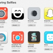 App Store Section Sharing Selfie