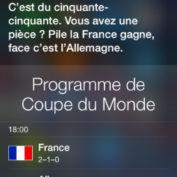 Siri prediction coupe du monde