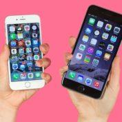 iPhone 6 Argent iPhone 6 Plus Gris