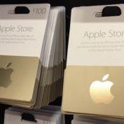 Carte Cadeau Apple Store Or
